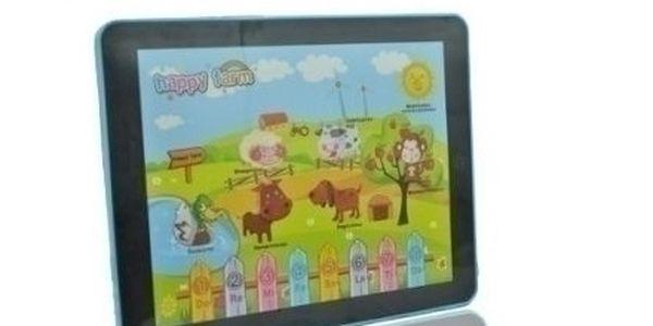 Dětský tablet HAPPY FARM, nechte vase deti poznávat zvířátka na farmě !