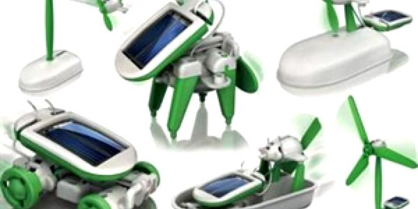 Solární hračka 6v1, naprostý hit! Nejen děti si ji ihned zamilují!