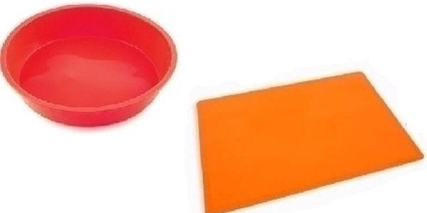 Pečící silikonová forma + pečící silikonová podložka na plech za nejlepší cenu na trhu !