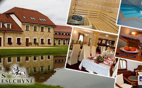 Luxusní letní dovolená! Pobyt v hotelu Lions v Nesuchyni na 5 dní - polopenze, vstup do bazénu, adventure golf, skvělá cena za alko drinky a koktejly a mnoho dalšího! Luxus pro 1 osobu za pár korun!