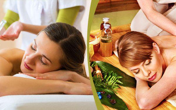 70minutová relaxační masáž celého těla