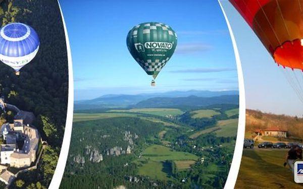 Nezapomenutelný zážitek: hodinový let horkovzdušným balónem. Startuje se z různých lokalit České i Slovenské republiky. Zážitek pro Vás nebo skvělý dárek, který můžete zakoupit za úžasnou cenu! Berte život s nadhledem!