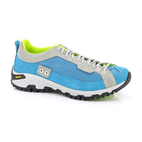 Unisex tyrkysovo-neonové sportovní boty Kimberfeel