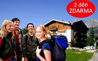 Rodinná dovolená ve Vysokých Tatrách pro DVA na 8 dní. Až 2 děti ZDARMA.