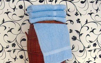 Smolka ručník klasik světle modrý