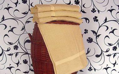 Smolka ručník klasik smetanový