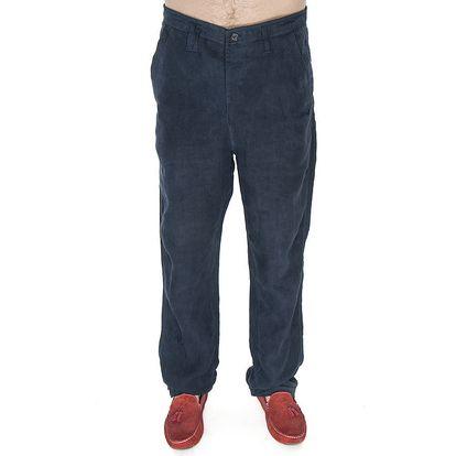 Pánské modré lněné kalhoty Me Da Igual