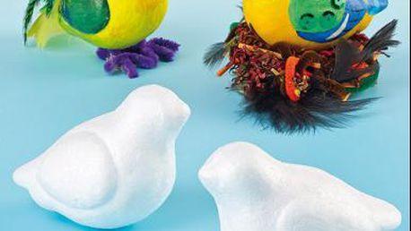 Polystyrenoví ptáčci