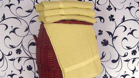 Smolka ručník klasik žlutý