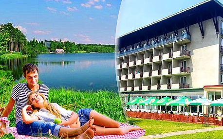 Relaxační dovolená na Vysočině v Hotelu Medlov*** přímo u rybníka