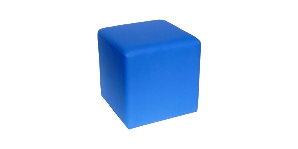 Taburet Domino - modrý