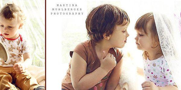 Umělecké fotografie dětí