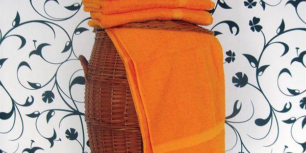 Smolka ručník klasik oranžový