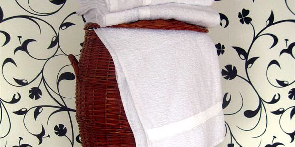 Smolka ručník klasik bílý
