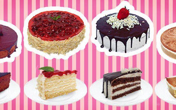 Domácí dorty z vyhlášené cukrárny Fresco Gusto