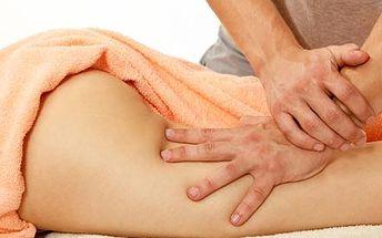 Hodinová ruční masáž proti celulitidě s prvky lymf...