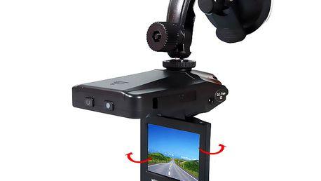 HD kamera do auta zaznamenávající jízdu