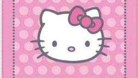 Dětská fleecová deka Hello Kitty 120x150