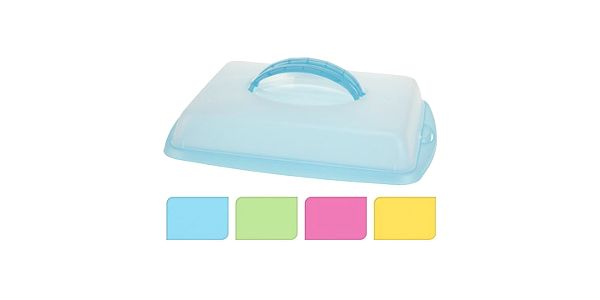 Box plastový na potraviny s víkem 43x31x9 cm KAISERHOFF KO-Y54660190modr