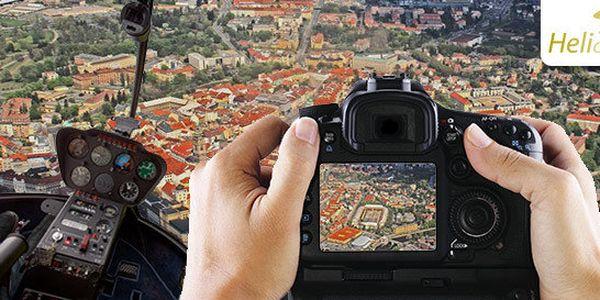 Workshop letecké fotografie včetně focení z vrtulníku