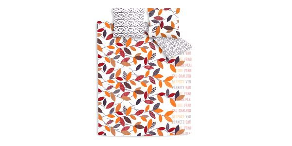 Povlečení na dvoulůžko Petit Papiers, 200x200 cm