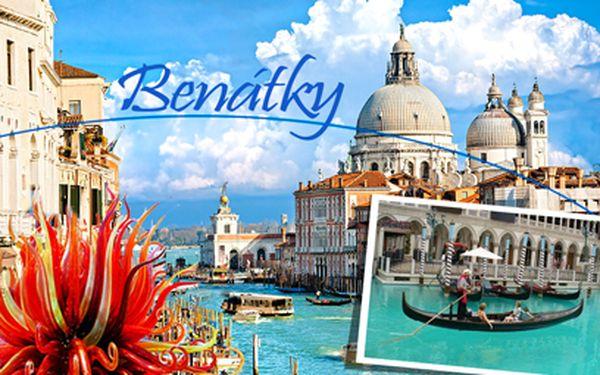 Do Benátek a na ostrov Muráno za 1190 Kč! Víkendová romantika!