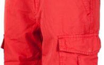 Russell Athletic CARGO SHORTS WITH BELT červená XL