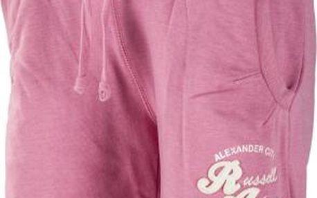 Russell Athletic SHORT VINTAGE růžová XL