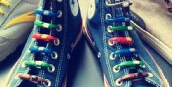 Trendy silikonové tkaničky do bot - novinka, která letí!