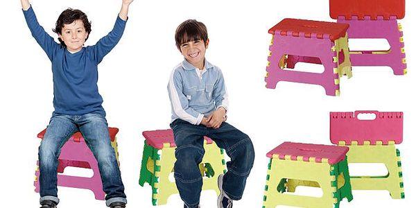 Multifunkční skládací stolička