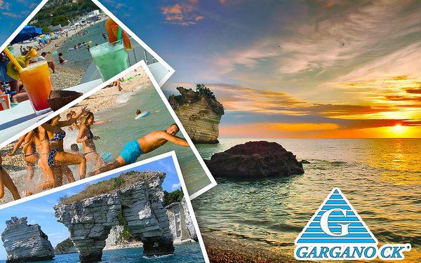 Jižní Itálie, Gargano – týden u moře s dopravou a polopenzí