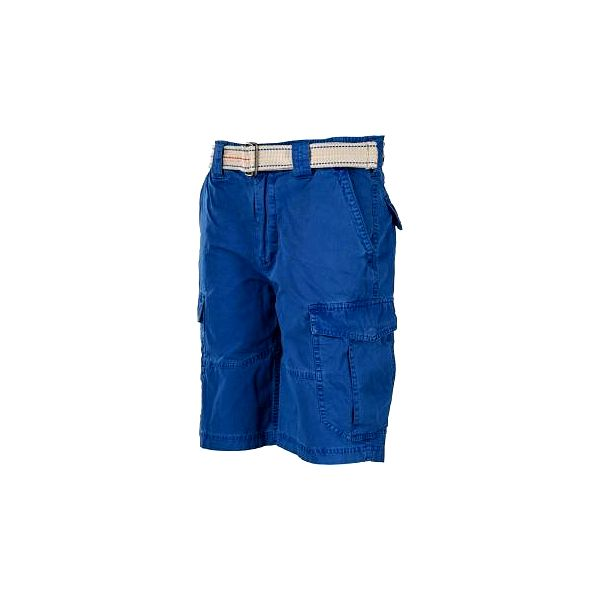 Russell Athletic CARGO SHORTS WITH BELT modrá XXL
