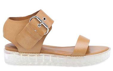 Dámské hnědé sandály Arezzo