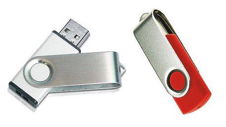 USB flash disk s pamětí 32 GB, 64 GB nebo 512 GB