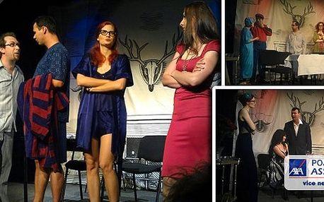 Máme pro vás brilantní komedii v Divadle Amadeus, která vás určitě pobaví! Divadelní představení A do pyžam! Zpříjemněte si podzimní večer, je ideální čas pro návštěvu divadla!