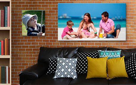 Fotoobraz na malířském plátně a dřevěném rámu