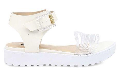Dámské bílé sandály Arezzo