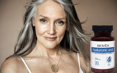 Kyselina hyaluronová 30 tablet pro krásnou a omlazenou pleť!