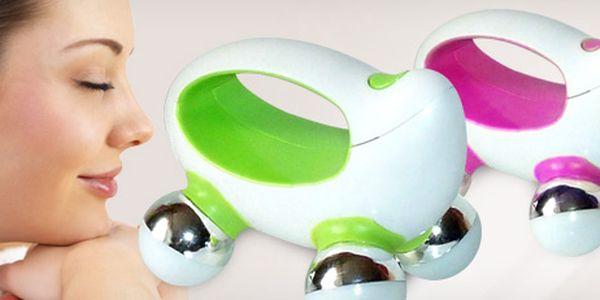 Praktický malý přenosný masážní strojek, který uleví vašemu tělu.