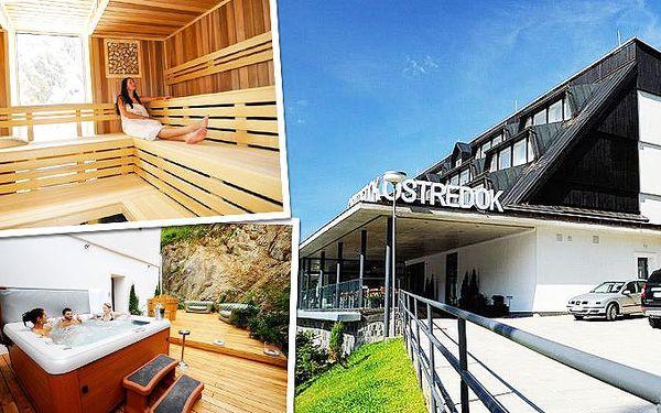 3denní wellness pobyt pro 2 s polopenzí v hotelu Ostredok***