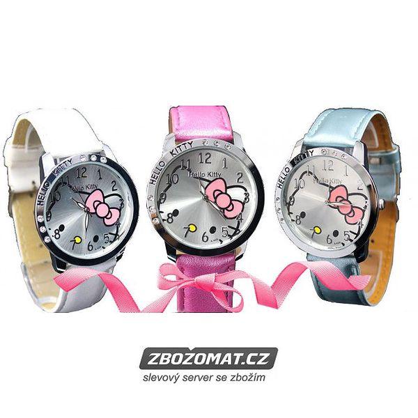Hodinky Hello Kitty pro Vaše malé parádnice!