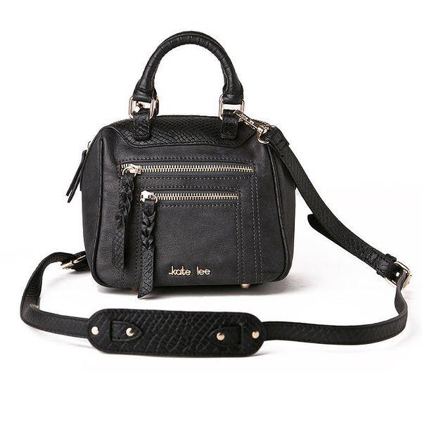 Dámská malá černá kabelka Kate Lee