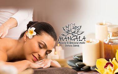 60minutová AROMA-OLEJOVÁ masáž + 20min. masáž dle Vašeho výběru (BAŇKY, LIFTINGOVÁ masáž obličeje, nebo INDICKÁ masáž hlavy! To vše za 345 Kč v salonu Mangala!