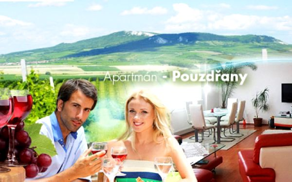 Jižní Morava - NOVÉ MLÝNY! Ubytování v luxusním APARTMÁNU s bazénem na 3 DNY pro DVA za 999 Kč! Milujete přírodu, cyklistiku, lenošení u vody a posezení u sklenky vína? Neváhejte a poznejte krásy Moravy! Platnost do 10/2014!