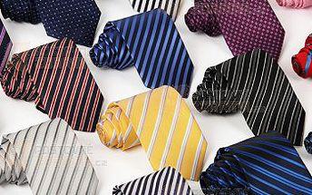 Pánská kravata - pestrý výběr vzorů a poštovné ZDARMA! - 14509992