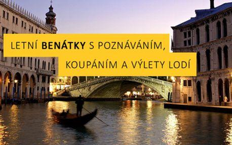 1198 Kč za návštěvu letních Benátek.Poznávání, koupání a výlety lodí na ostrovy Murano, Burano
