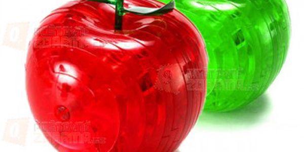 3D puzzle ve tvaru jablíčka - 2 barvy a poštovné ZDARMA! - 14409981