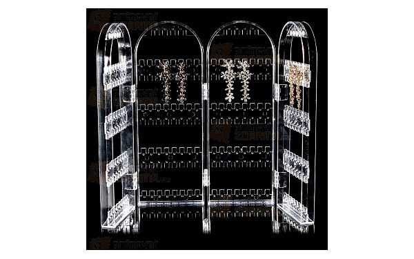 Stojánek na náušnice - 2 či 4 stěny a poštovné ZDARMA! - 14806988