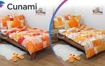 Bavlněné povlečení výprodej na 2 postele