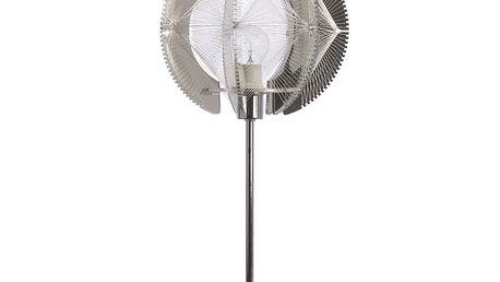 Stolní lampa Wire, chrom